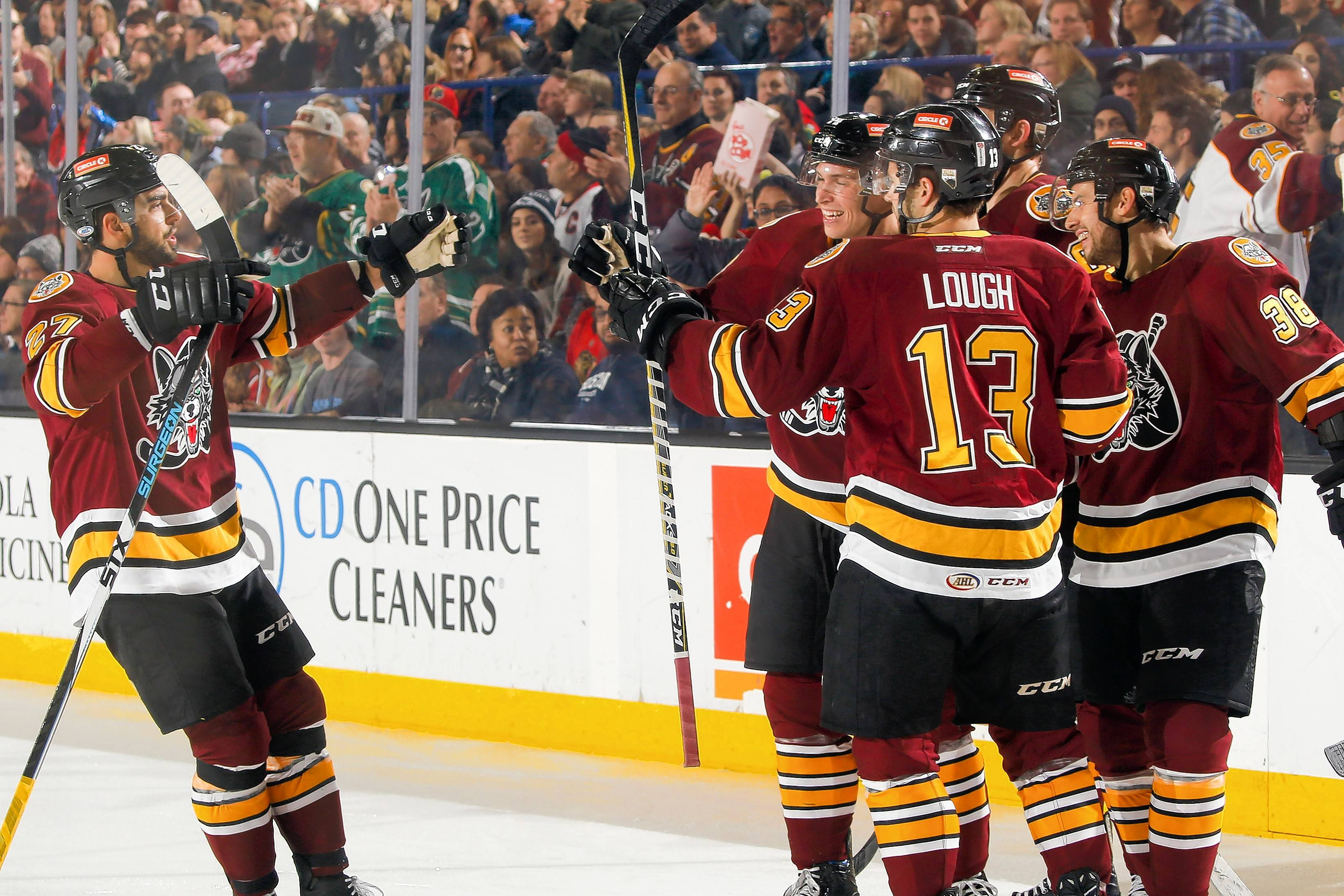 The Chicago Wolves will look to defend their Central Division title again this season.