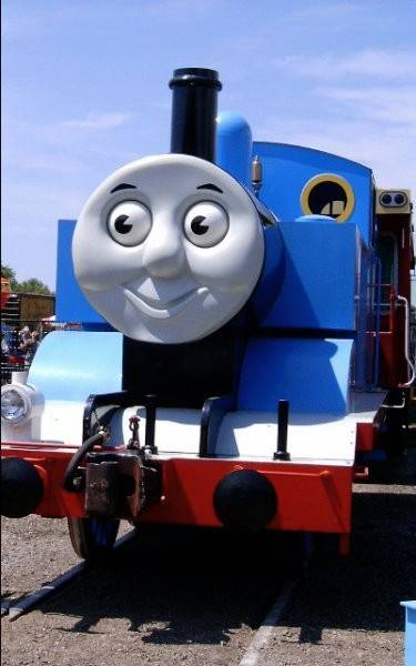 "Take a ride on Thomas the Tank Engine during the ""Day Out with Thomas"" event on Saturdays and Sundays, July 14-22."