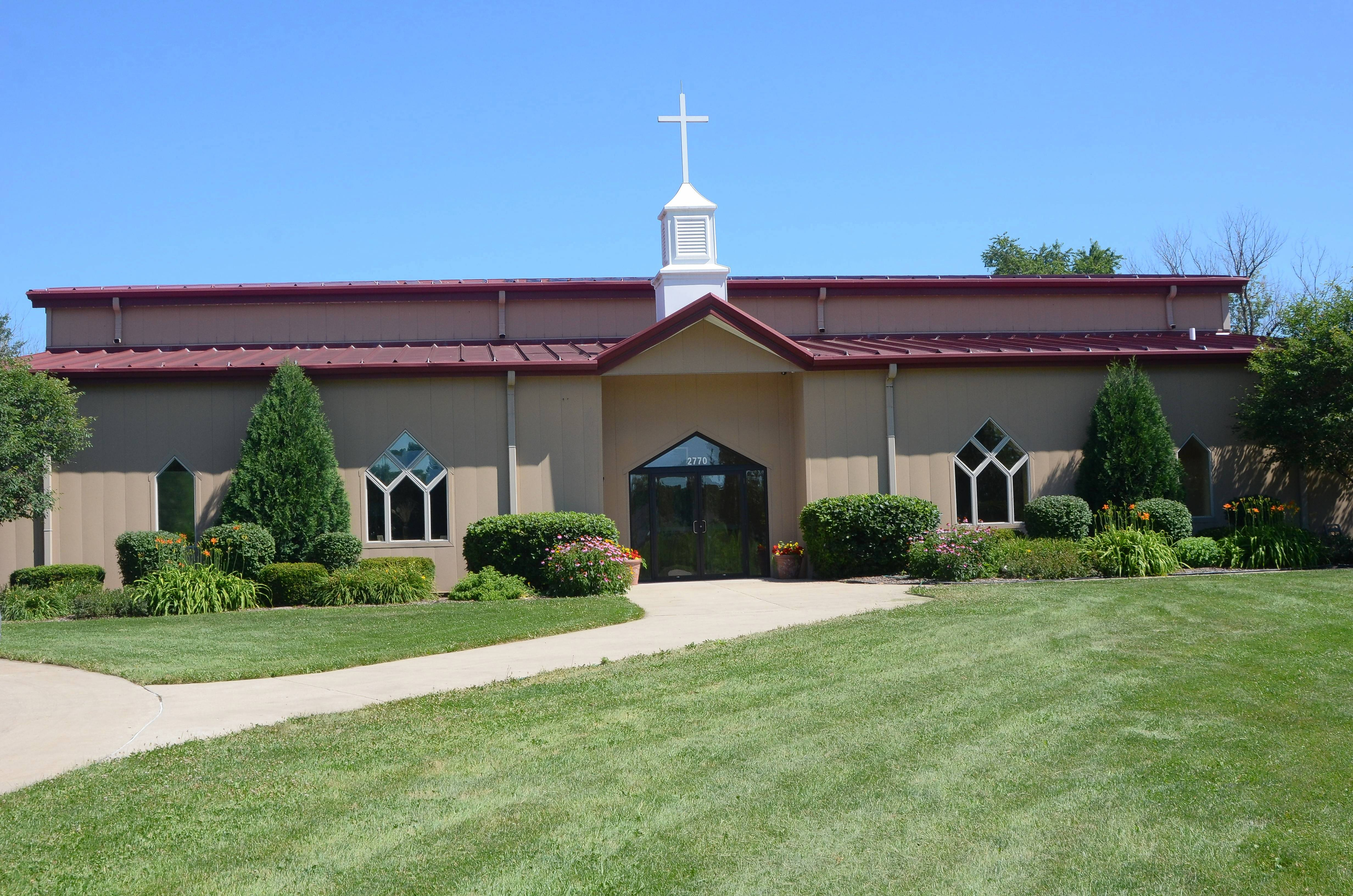 Grace Community Christian Church on Aurora's far east side will celebrate its 25th anniversary with events Saturday and Sunday, July 14-15.