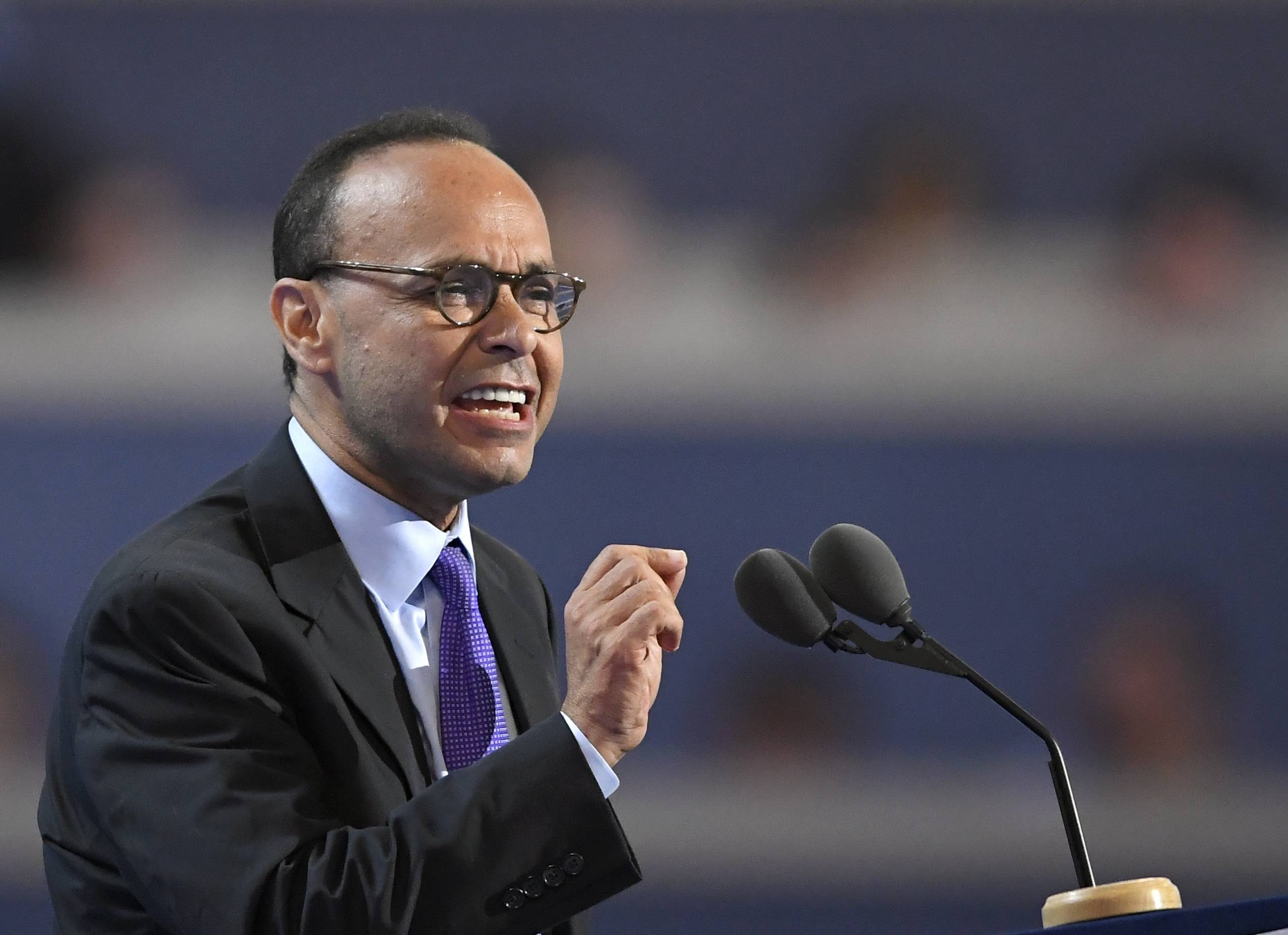 "Rep. Luis Gutierrez says President Donald Trump's ""bullying"" and ""bigotry"" led to the harassment of a woman wearing a Puerto Rico shirt last month in a Cook County forest preserve."