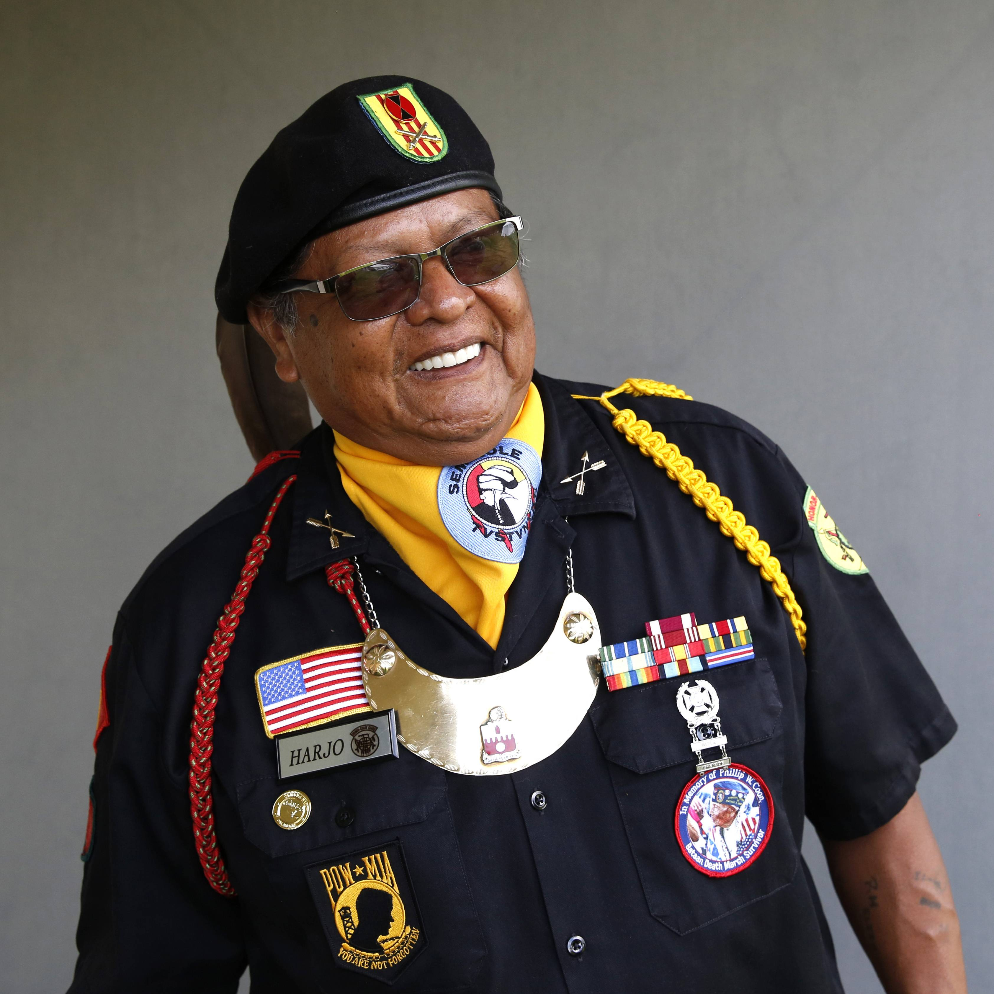 American Indian veterans gather at Cantigny: 'It helps a lot when you talk'