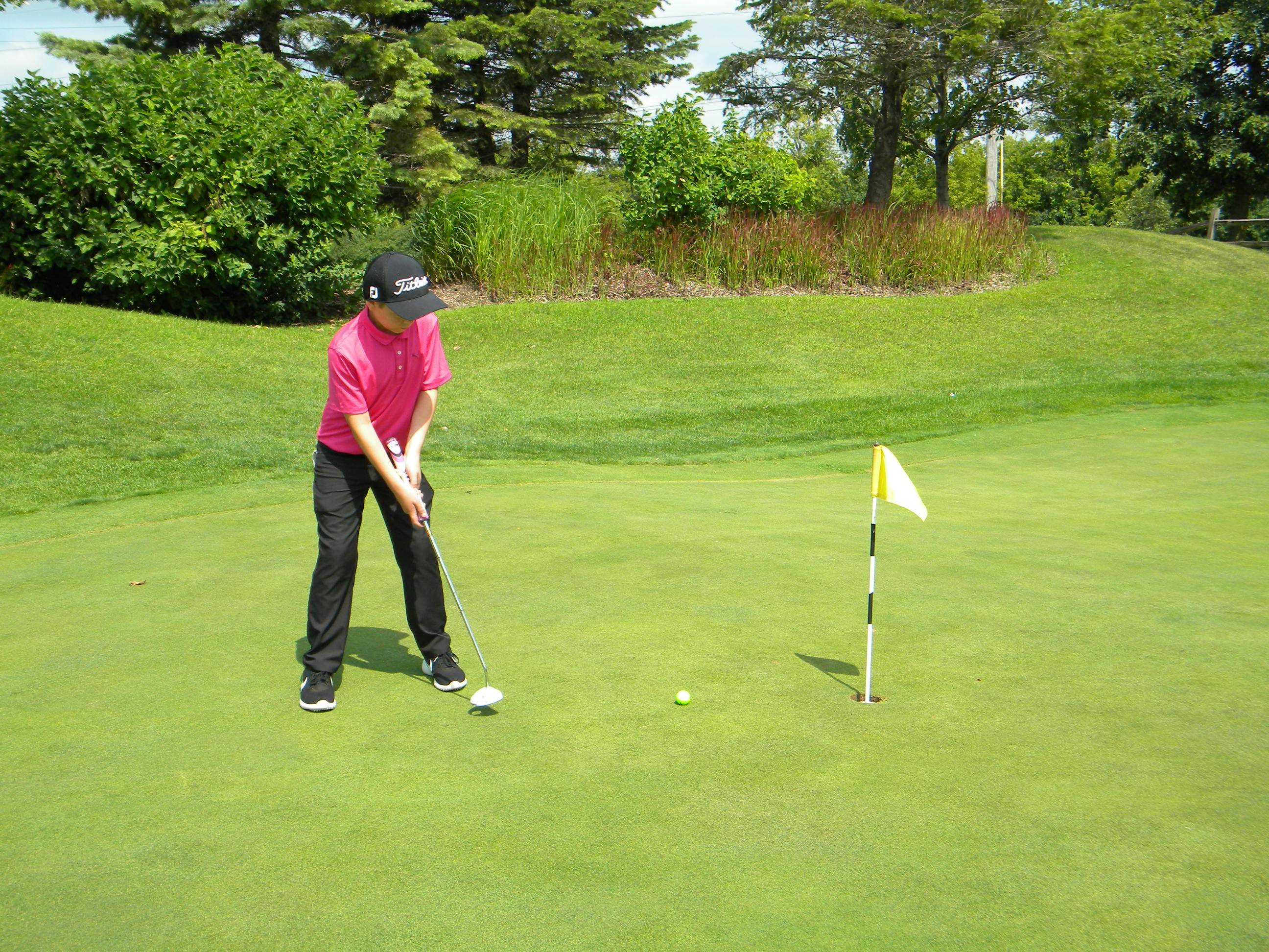 Golfers who participated in the Grayslake Golf Course's Junior Golf Camp and League showed off their new skills at the end of the season tournament on Saturday, August 4, 2018.Grayslake Park District Staff