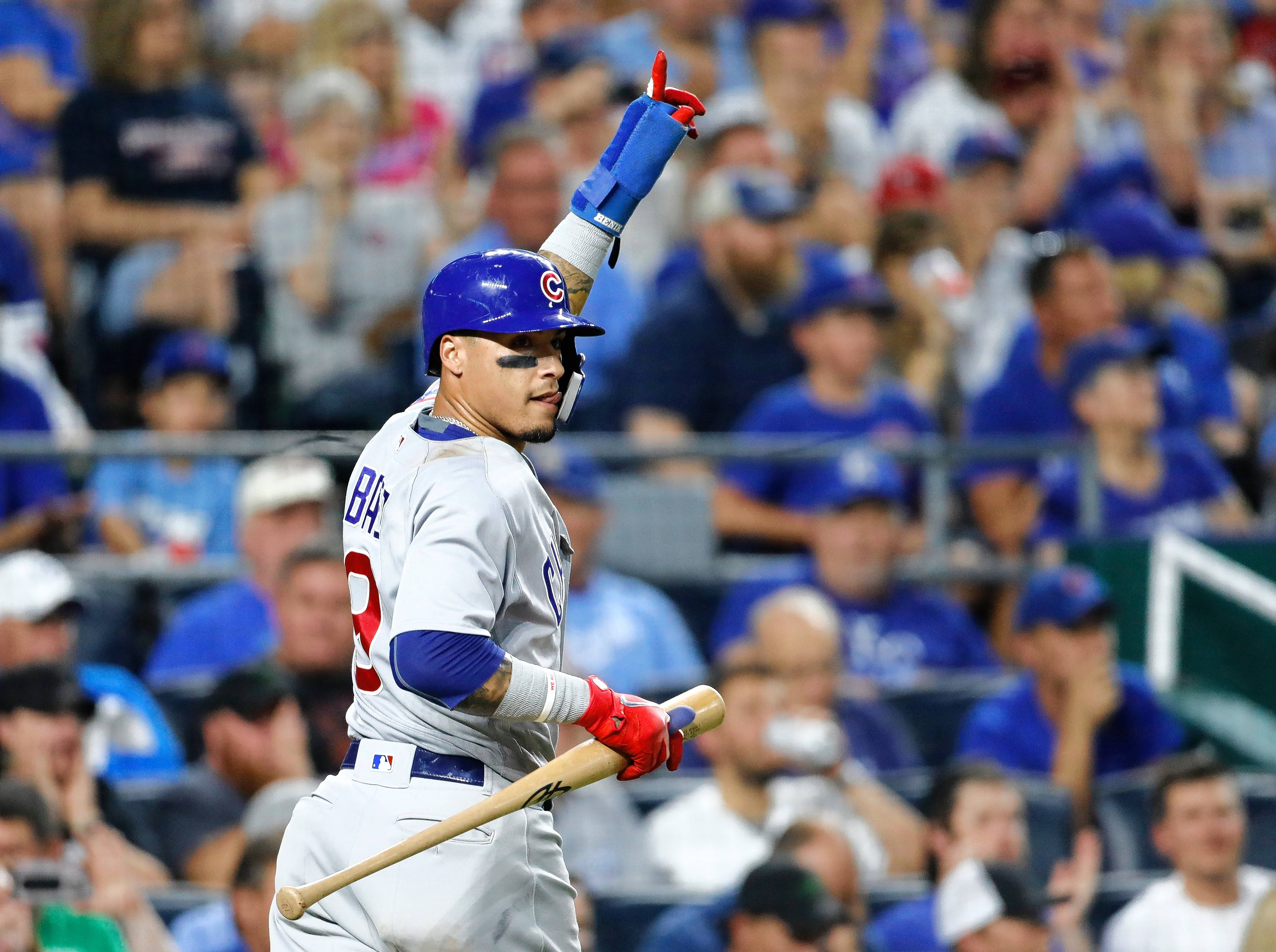 Bruce Miles says Chicago Cubs infielder Javier Baez has a chance to win MVP honors in the National League this season.