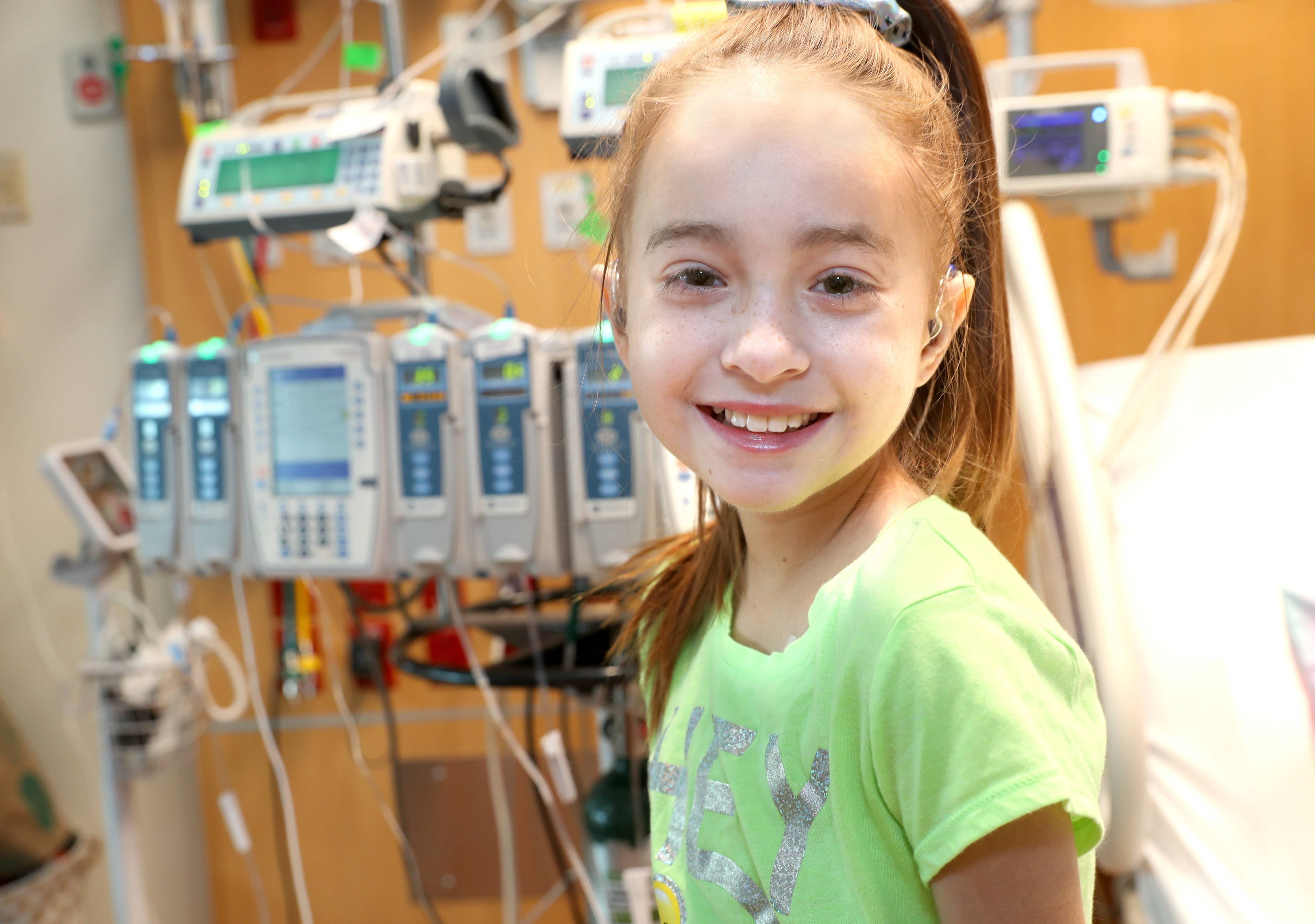 Sofia Sanchez of Downers Grove has spent the last several weeks waiting for a new heart at Ann & Robert H. Lurie Children's Hospital. She has two wishes for her 11th birthday Saturday: To get her new heart and to meet her idol, Drake.