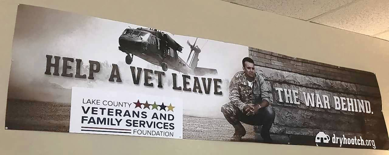 More than 18,000 people came to the Lake County Veterans and Family Services Foundation in Grayslake last year to get help with issues including job searches, financial help, domestic violence, substance abuse and mental health concerns.