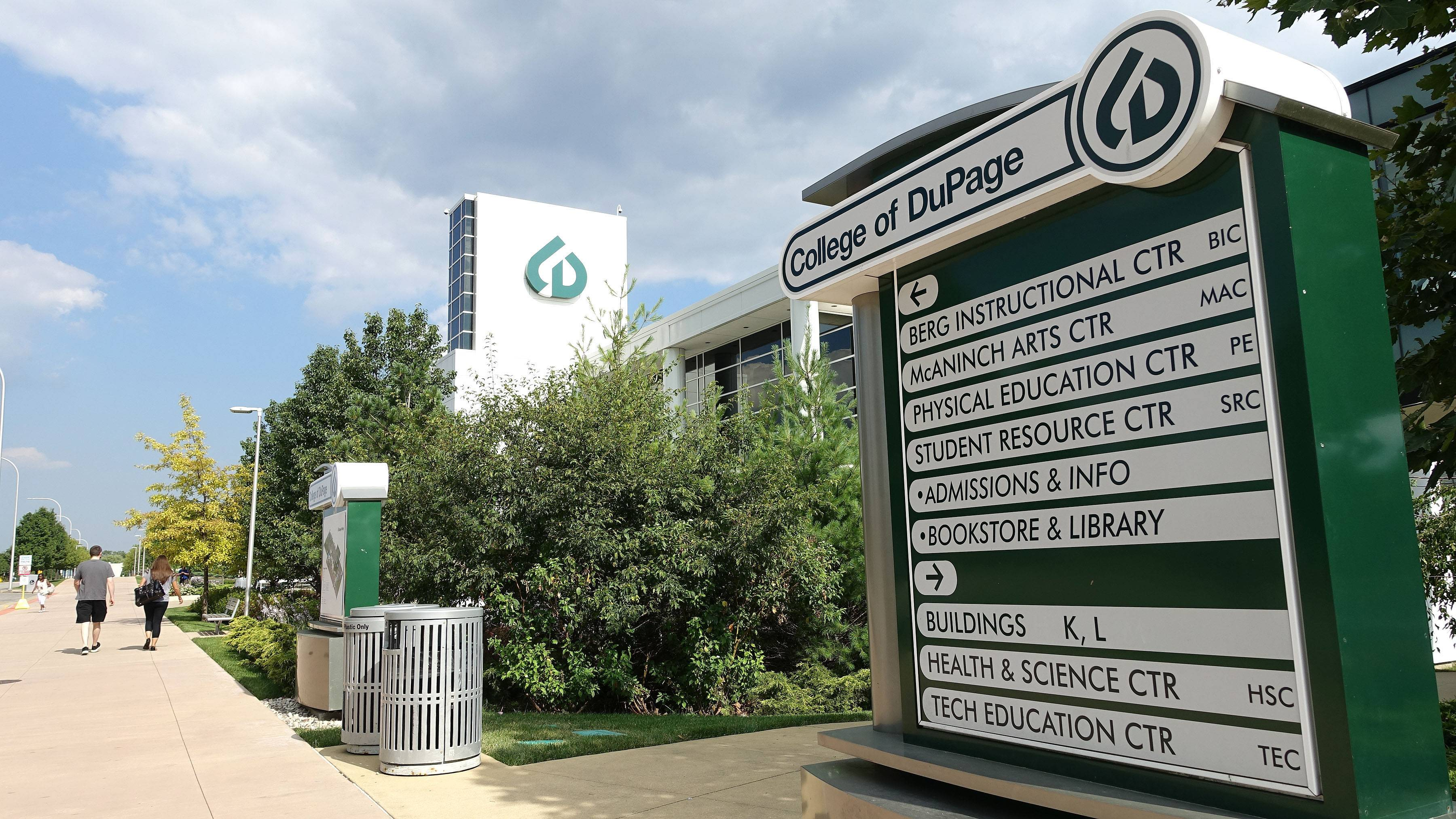 College of DuPage is going to receive more than $700,000 in state funding to help pay for a variety of improvements at its Glen Ellyn campus and a center in Carol Stream.