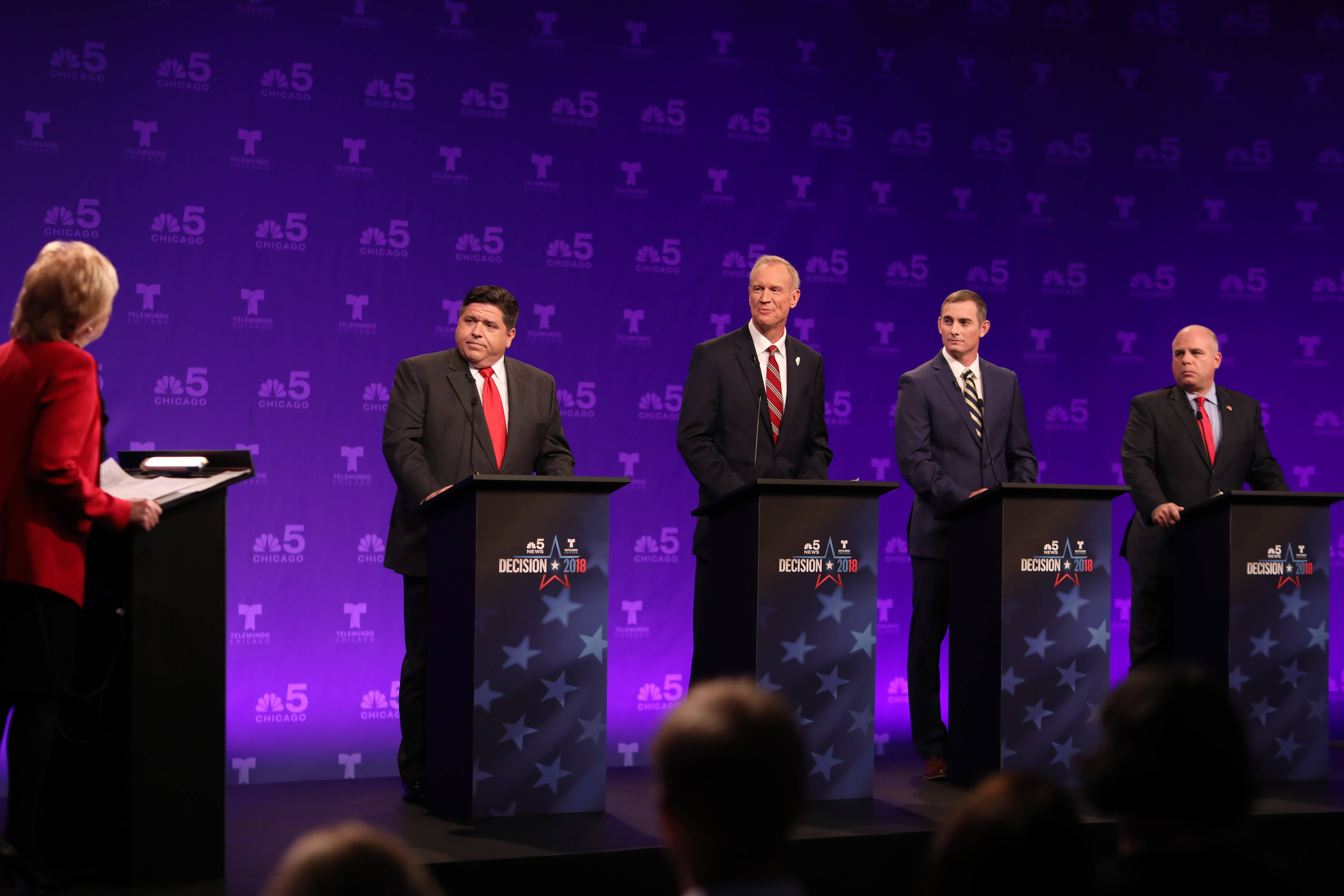 Editorial: Rauner, Pritzker and a dismal first governor debate