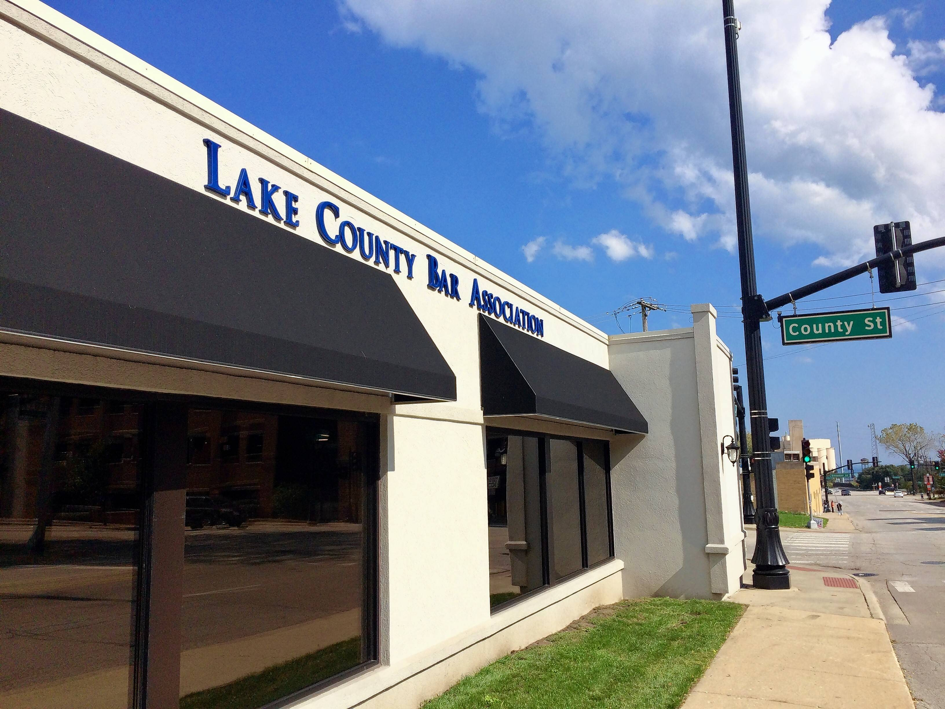Christopher Boadt, former executive director of the Lake County Bar Association, received two years of probation after admitting Tuesday to stealing nearly $250,000 from the organization and its charitable foundation. This is the bar association's Waukegan office.