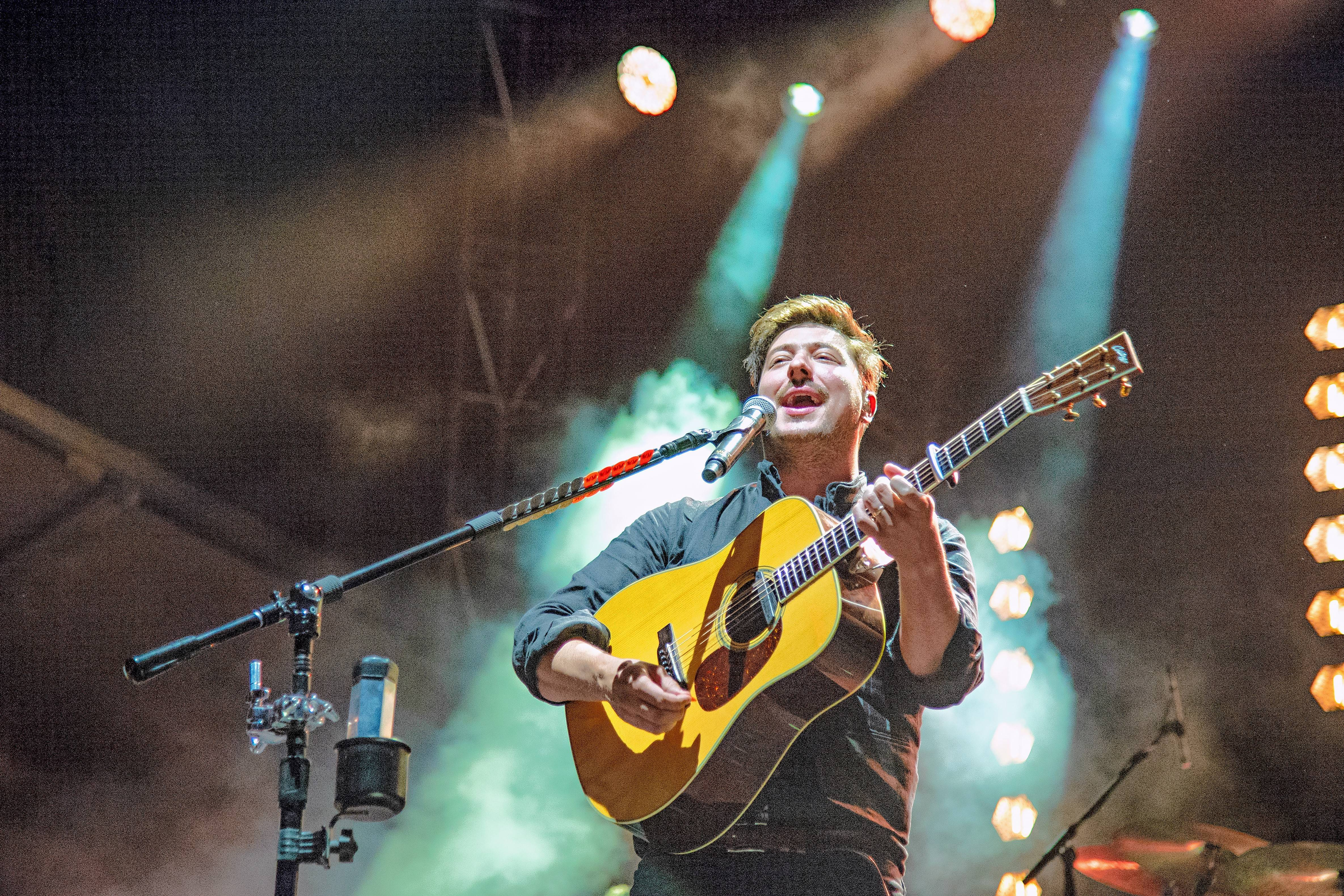 "Marcus Mumford of Mumford & Sons, which bring its ""Delta Tour"" to the United Center in Chicago at 7:30 p.m. Friday, March 29."
