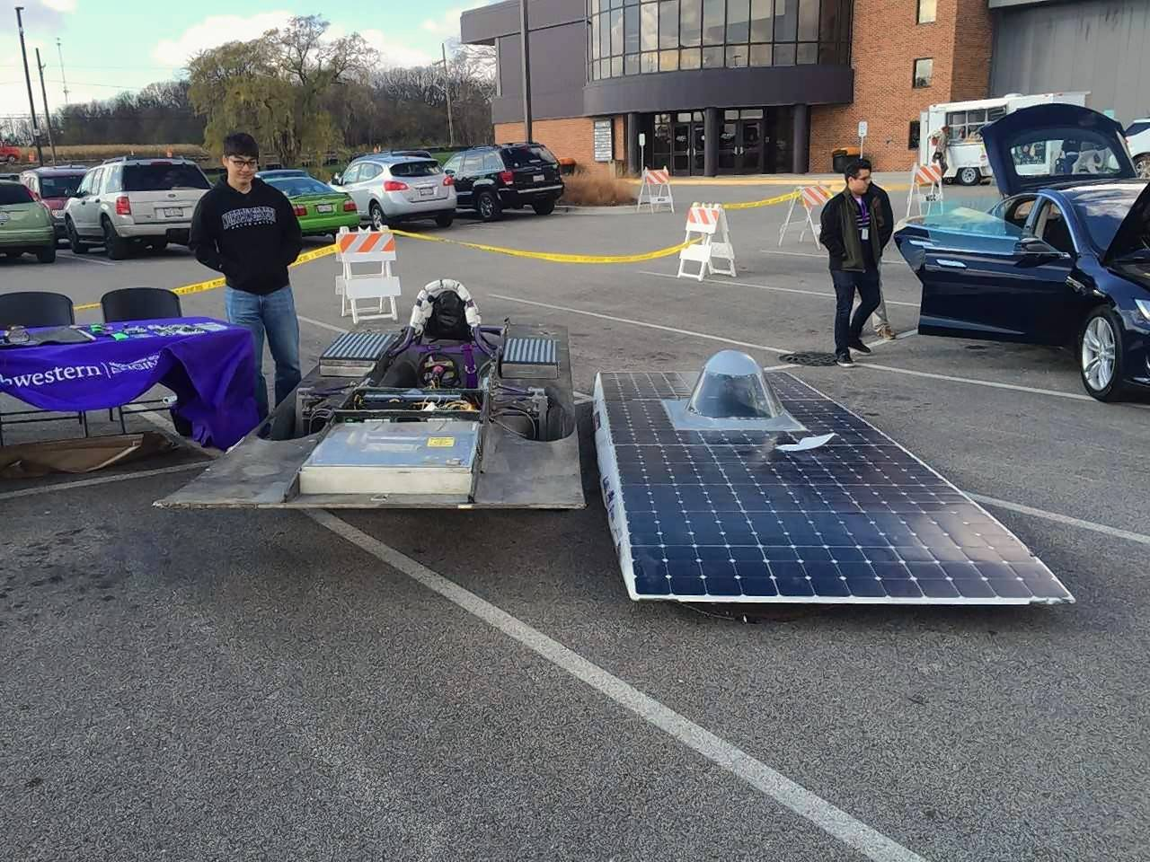 Students from Northern Illinois University and Northwestern University will display high-mileage and solar cars and educate attendees at McHenry County College's annual Green Living Expo on Nov. 3. The expo will feature a variety of sustainable resources and vendors, electric cars, and electric and conventional bikes.