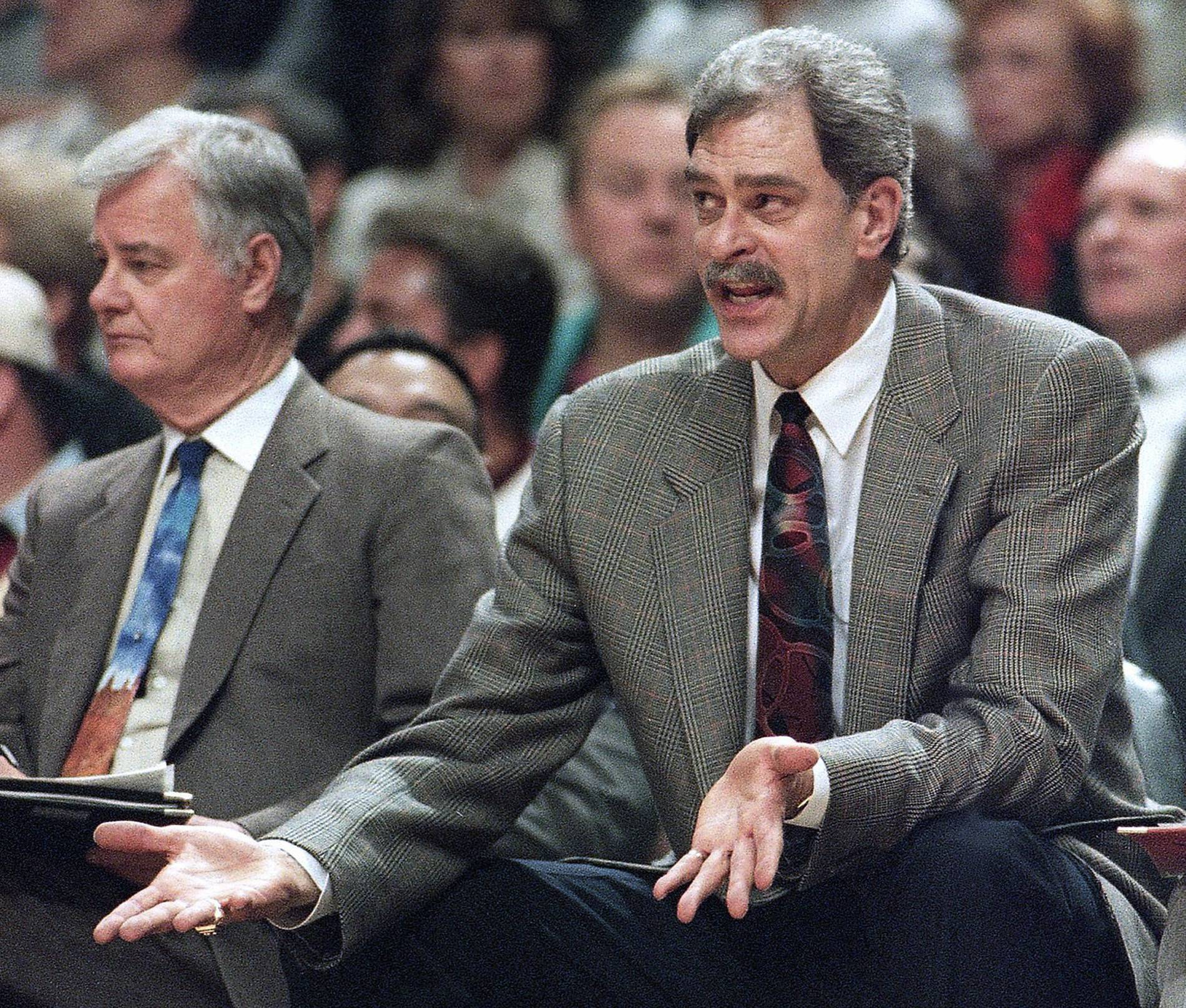 Why coaching legend Tex Winter was instrumental to Bulls success