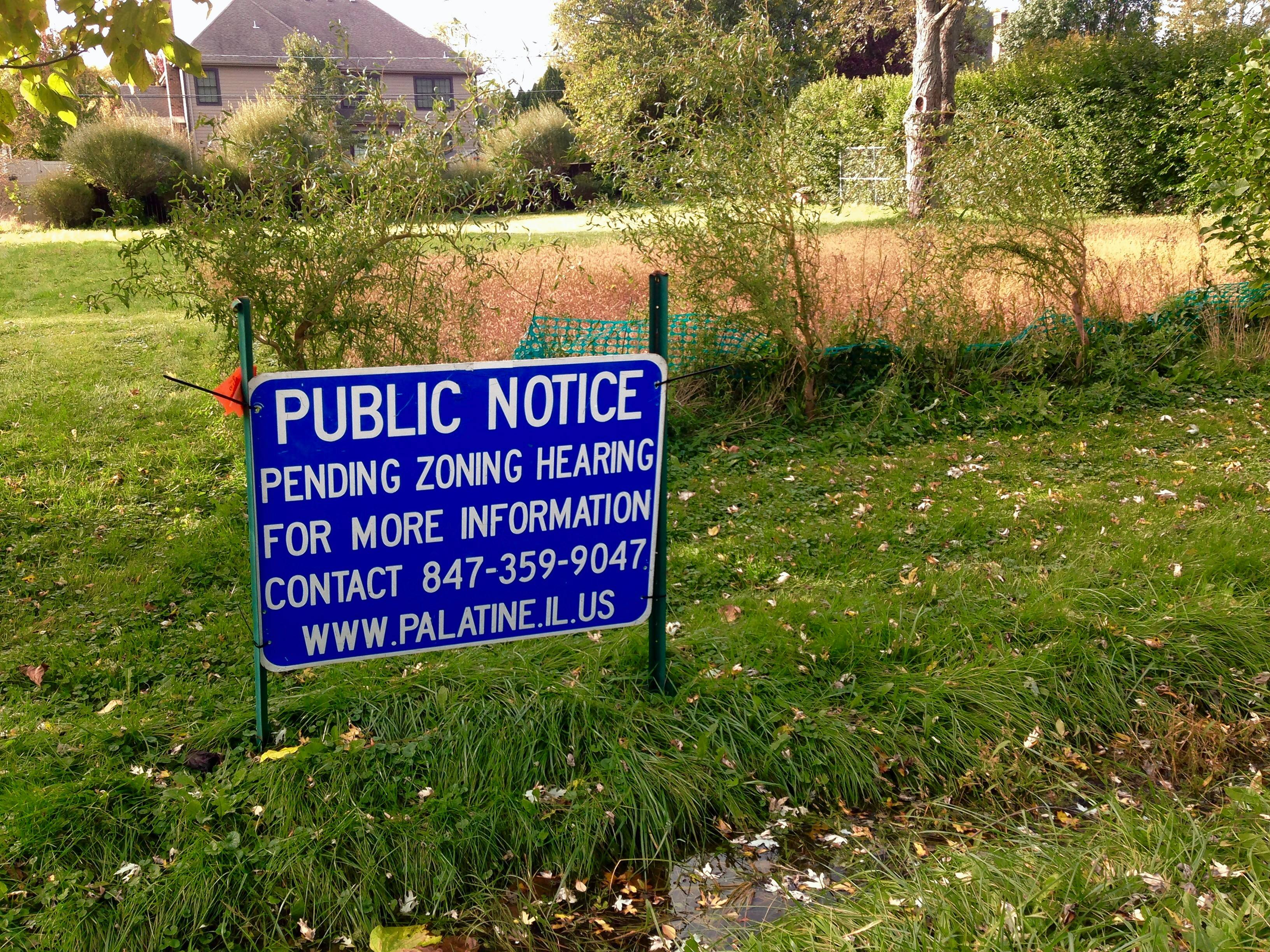 Developer working on stormwater concerns from Palatine home proposal
