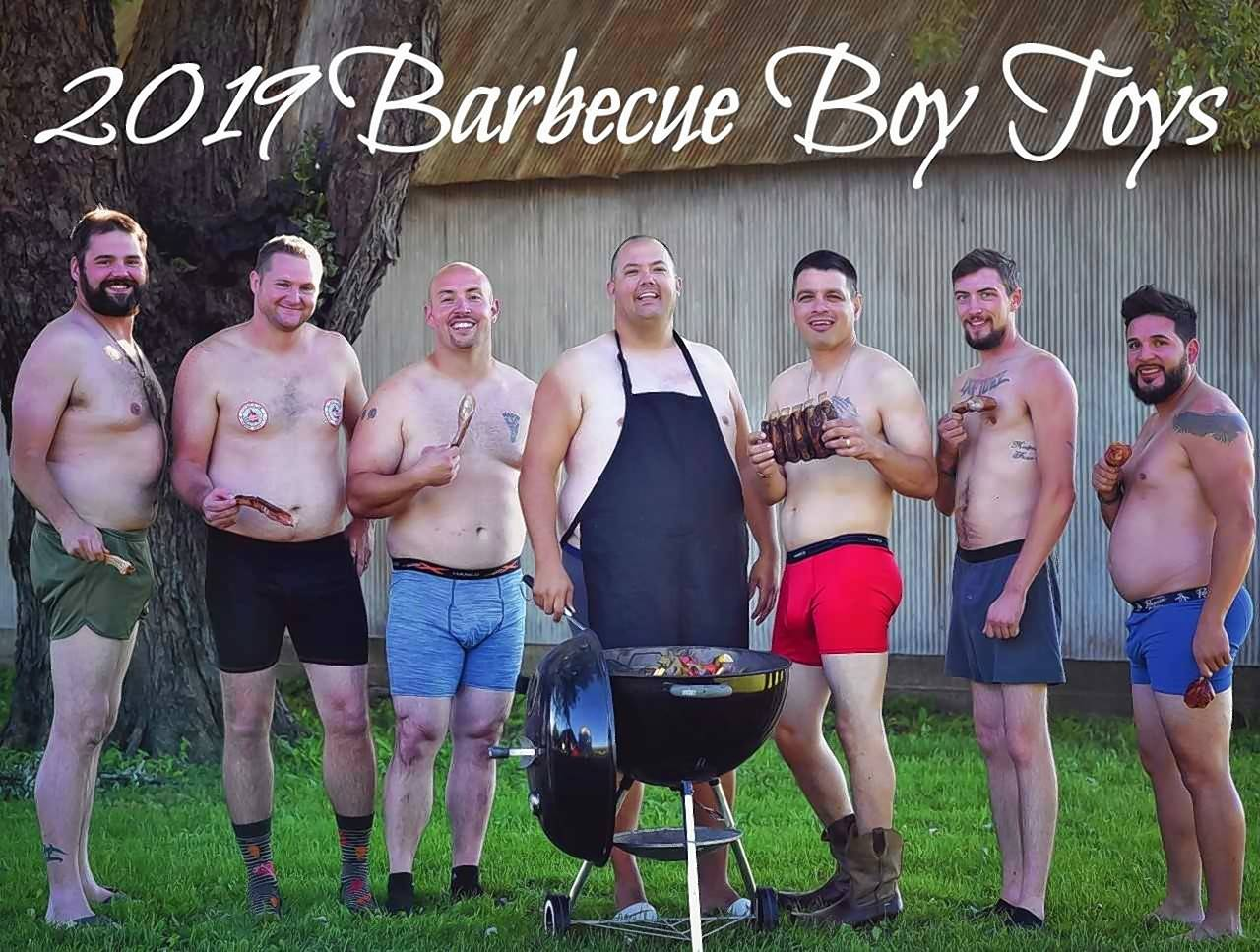 "Who doesn't love ""guys with dad bods eating barbecue food while in boudoir poses?"" says Steve Lulofs, president of Veterans Barbecue in Huntley, which is selling the calendar as a fundraiser for veterans groups."