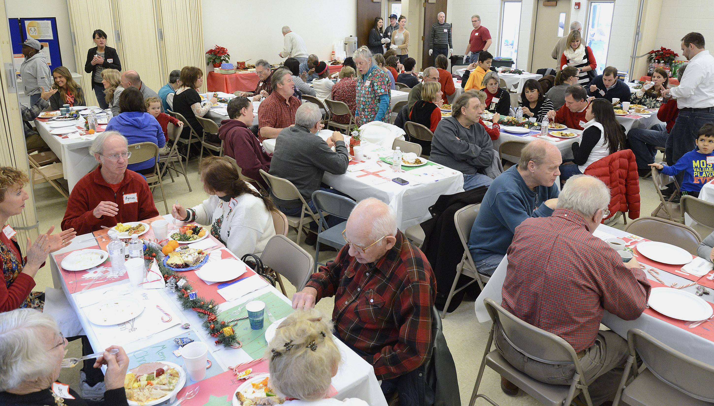 Volunteers are needed to put on Lazarus House's annual Thanksgiving Community Feast and the Community Christmas Brunch. Consider cooking, cleaning or providing food or supplies.