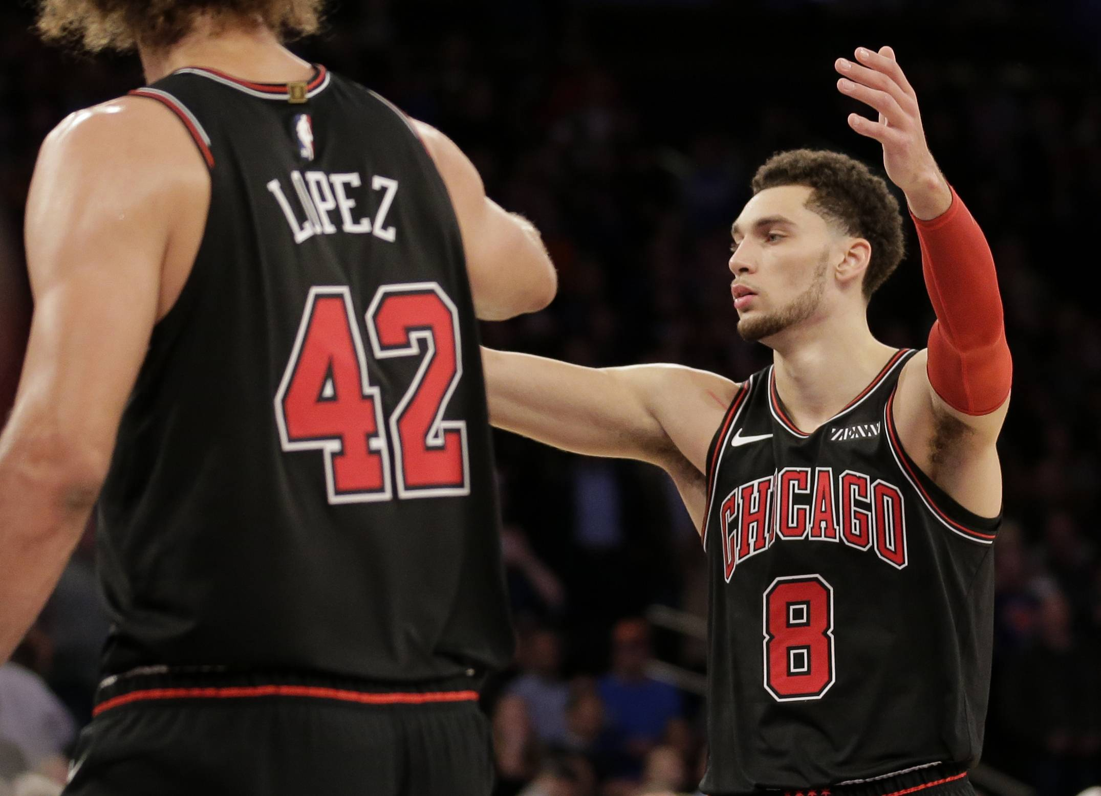 LaVine has carried heavy load for short-handed Bulls and there's no end in sight