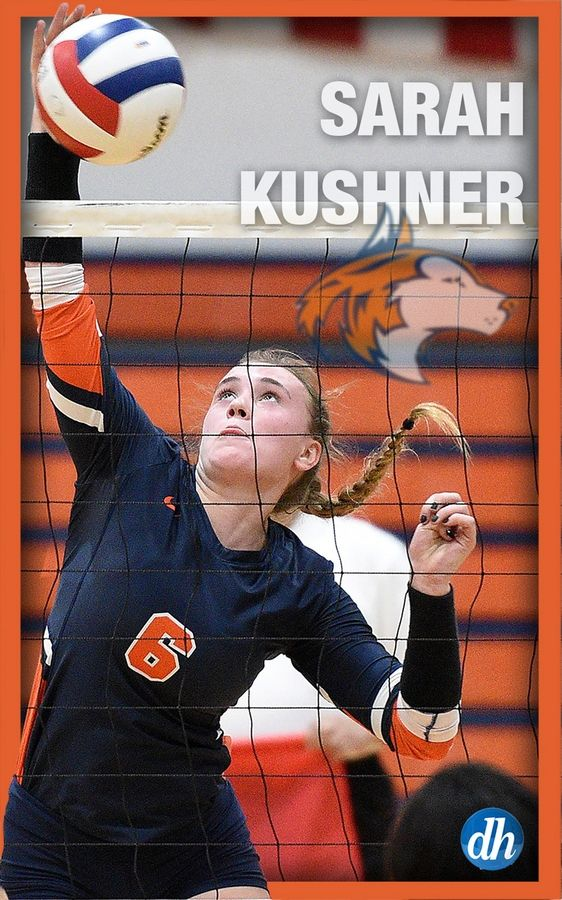 Patrick Kunzer/pkunzer@dailyherald.comSarah Kushner of Naperville North High School is the All-Area Team Captain in girls volleyball in DuPage County.