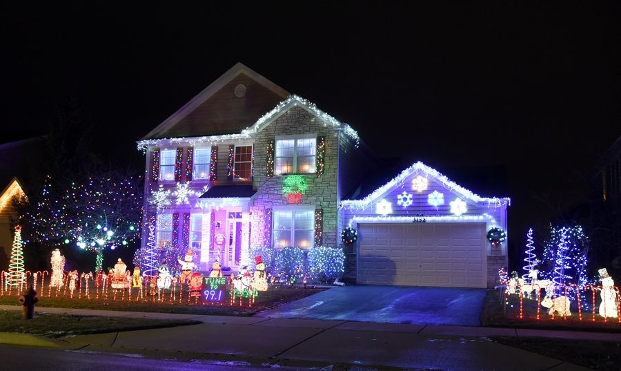 Jeff Wagner's home in Elgin was the Editor's Choice pick for the Fox Valley in last year's Daily Herald holiday lights contest. The deadline to enter this year's contest is Saturday night.