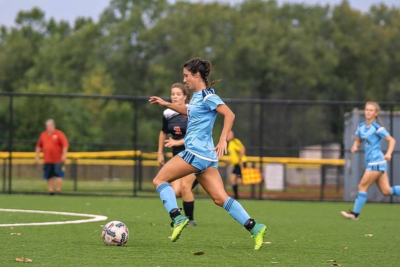 York graduate Jessica Bianchi led Trinity Christian to the NCCAA Division I women's soccer championship, was named NCCAA player of the year, earned a third straight All-America first-team honor and won the NCCAA's award for character in women's soccer.