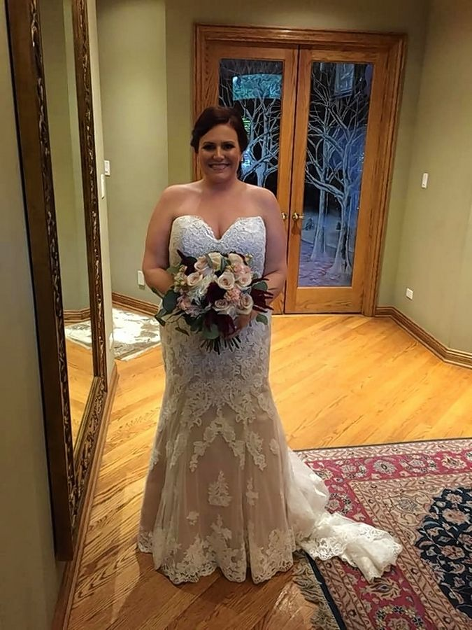 Kim (Rosewell) Spires was able to lose weight and look and feel the way she wanted on her wedding day.