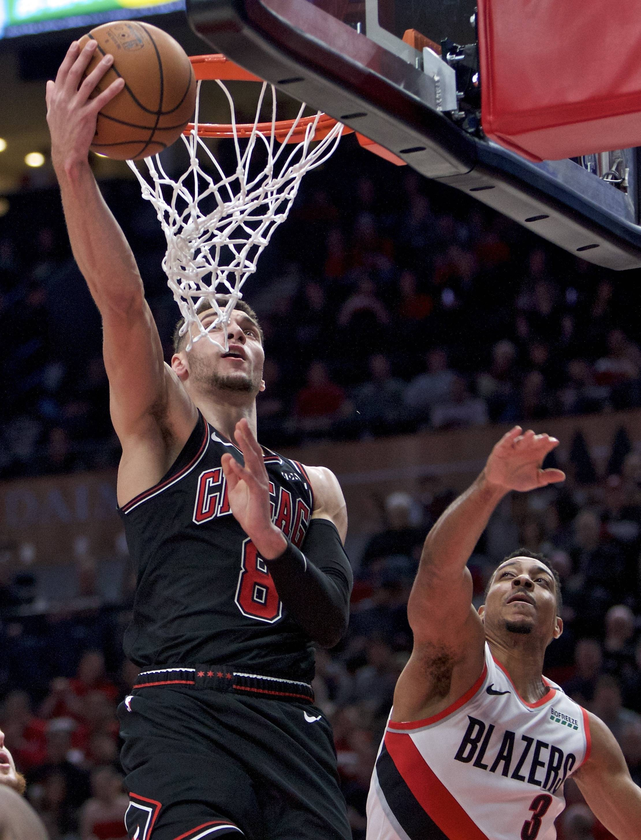 Bulls focus on driving the ball as road trip opens with loss