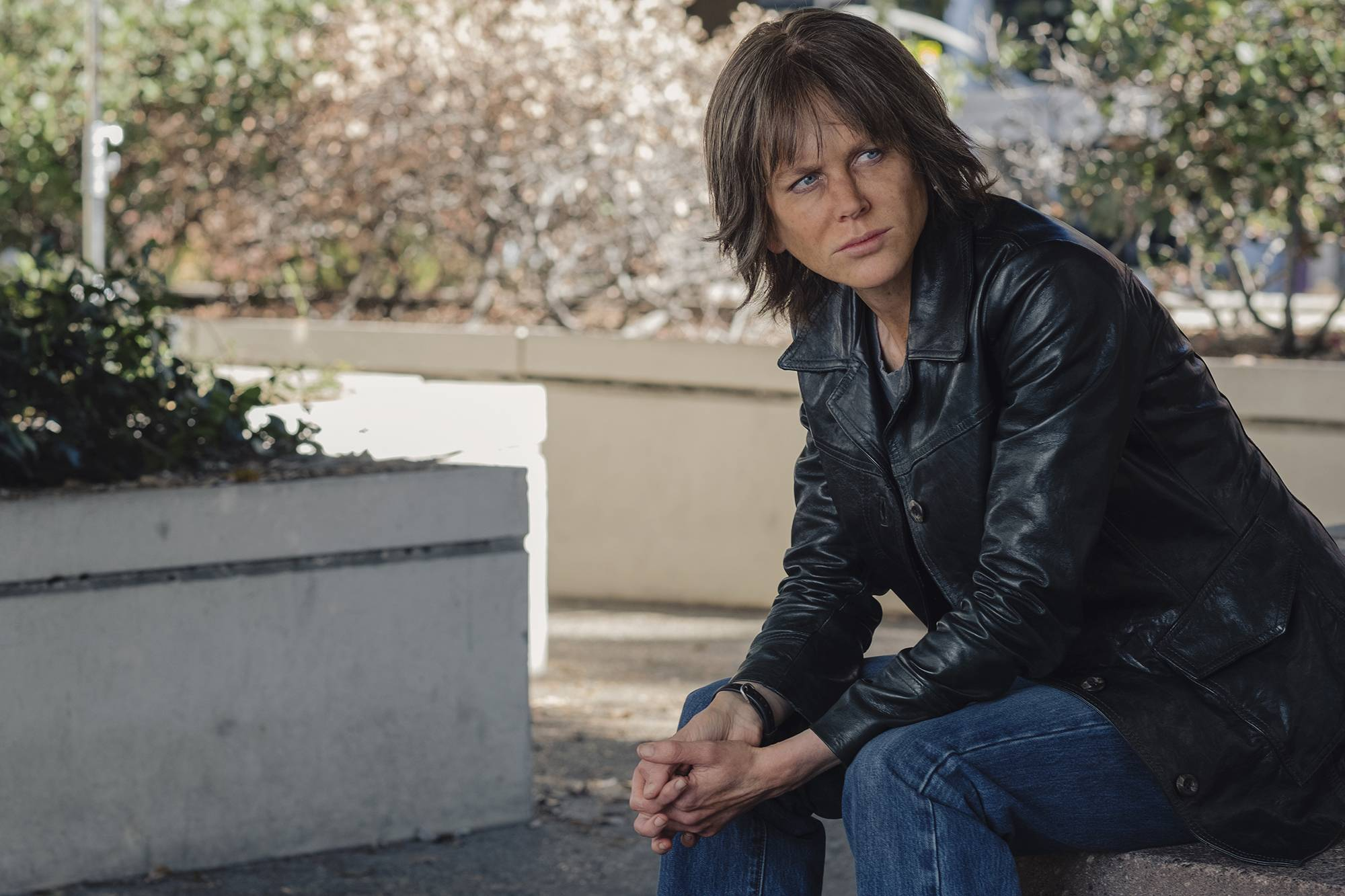 "Detective Erin Bell (Nicole Kidman) seeks revenge in the dark ""Destroyer."""