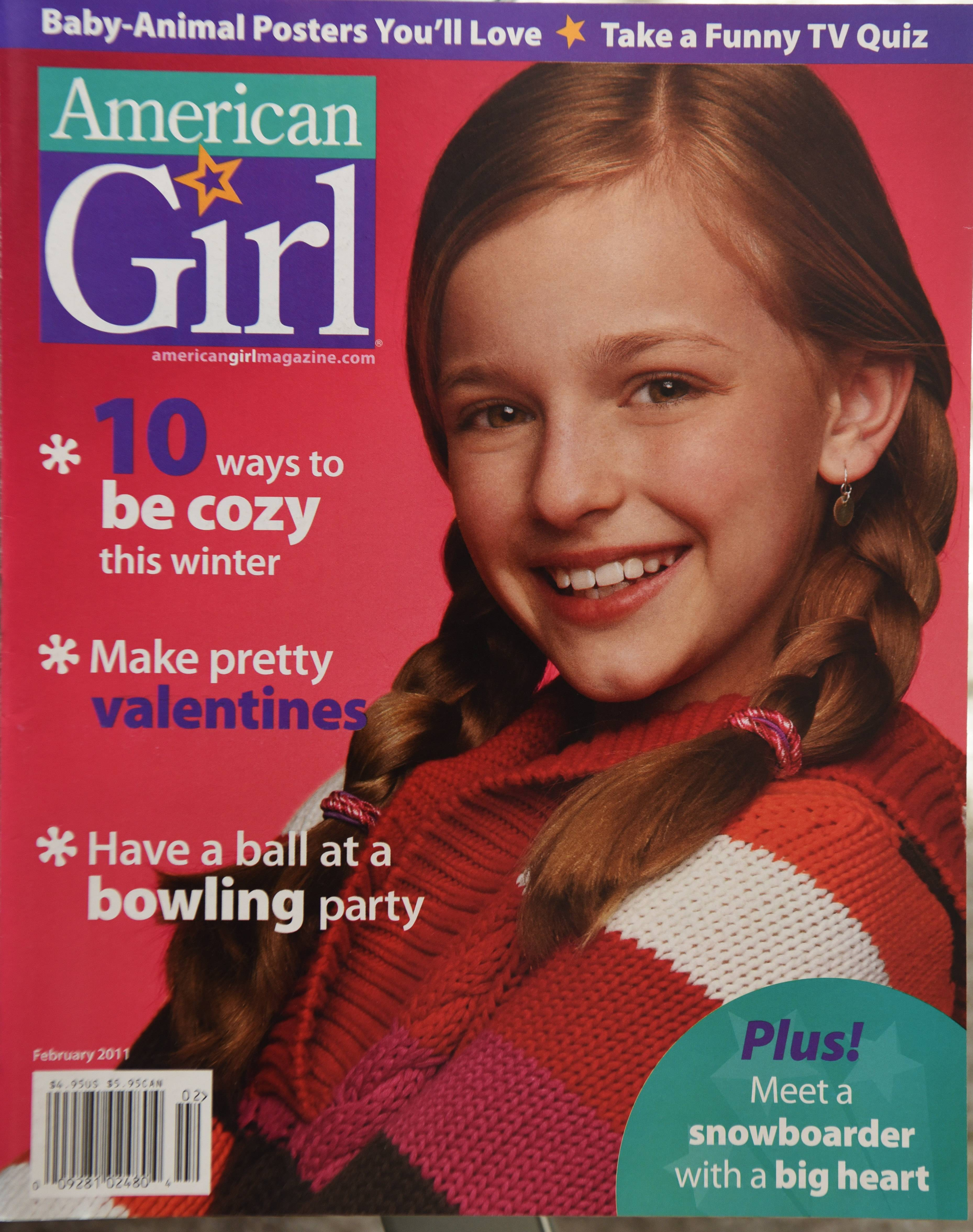 Making the cover of American Girl magazine was a grade-school highlight for Jacqueline Scislowski of Arlington Heights.