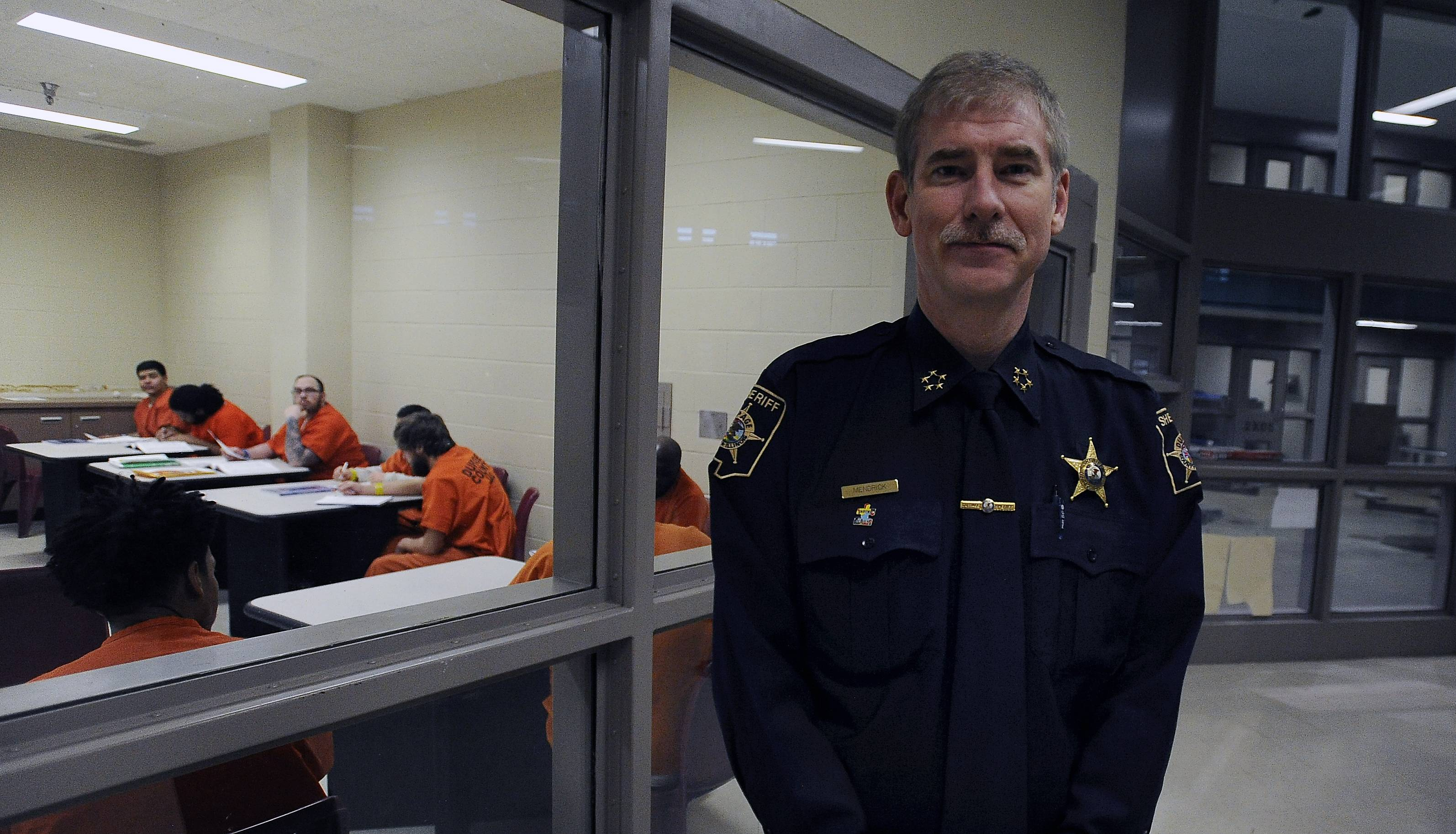 "DuPage County Sheriff Jim Mendrick says the JUST program in the county jail provides many benefits for inmates. ""I've talked to a countless number of people who used to be inmates and they say their lives have been saved by JUST of DuPage,"" he said."