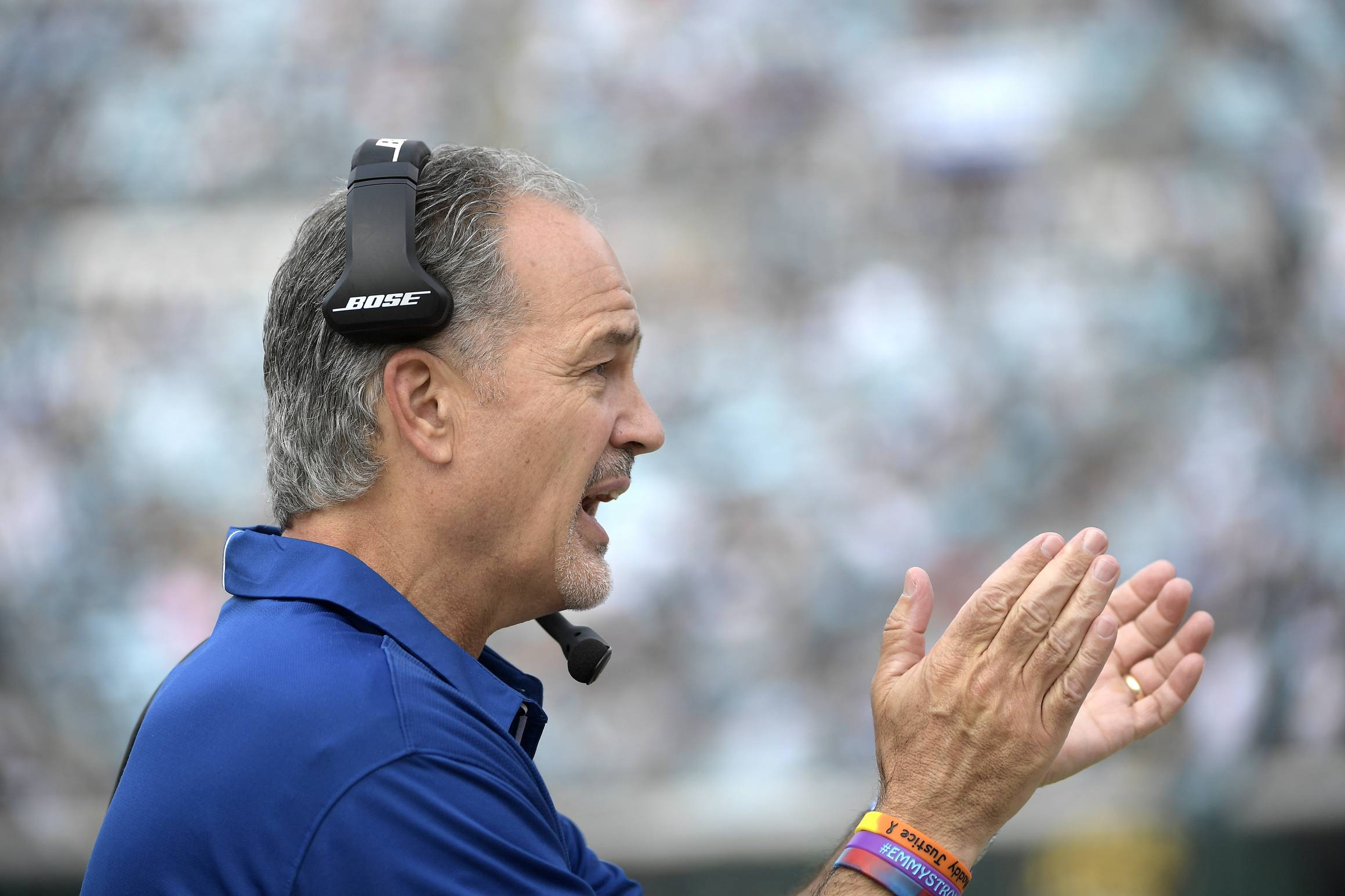 The Bears hired former Colts coach Pagano to replace Vic Fangio as defensive coordinator Friday, Jan. 11, 2019, hoping he can help them build on what they accomplished this season. Pagano inherits one of the NFL's stingiest defenses after Fangio left to take the Denver Broncos' head coaching job.