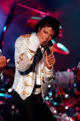 "FILE - In this Dec. 3, 1984 photo, Michael Jackson performs with his brothers at Dodger Stadium in Los Angeles, as part of their Victory Tour concert. The Michael Jackson estate has sent a letter to the U.K.'s Channel 4 warning that a documentary on men who accuse the singer of molesting them as boys violates the network's programming guidelines. Estate attorneys say in the letter released to The Associated Press on Monday, Feb. 11, 2019, that ""Leaving Neverland,"" includes no response from Jackson defenders as the channel's guidelines require."
