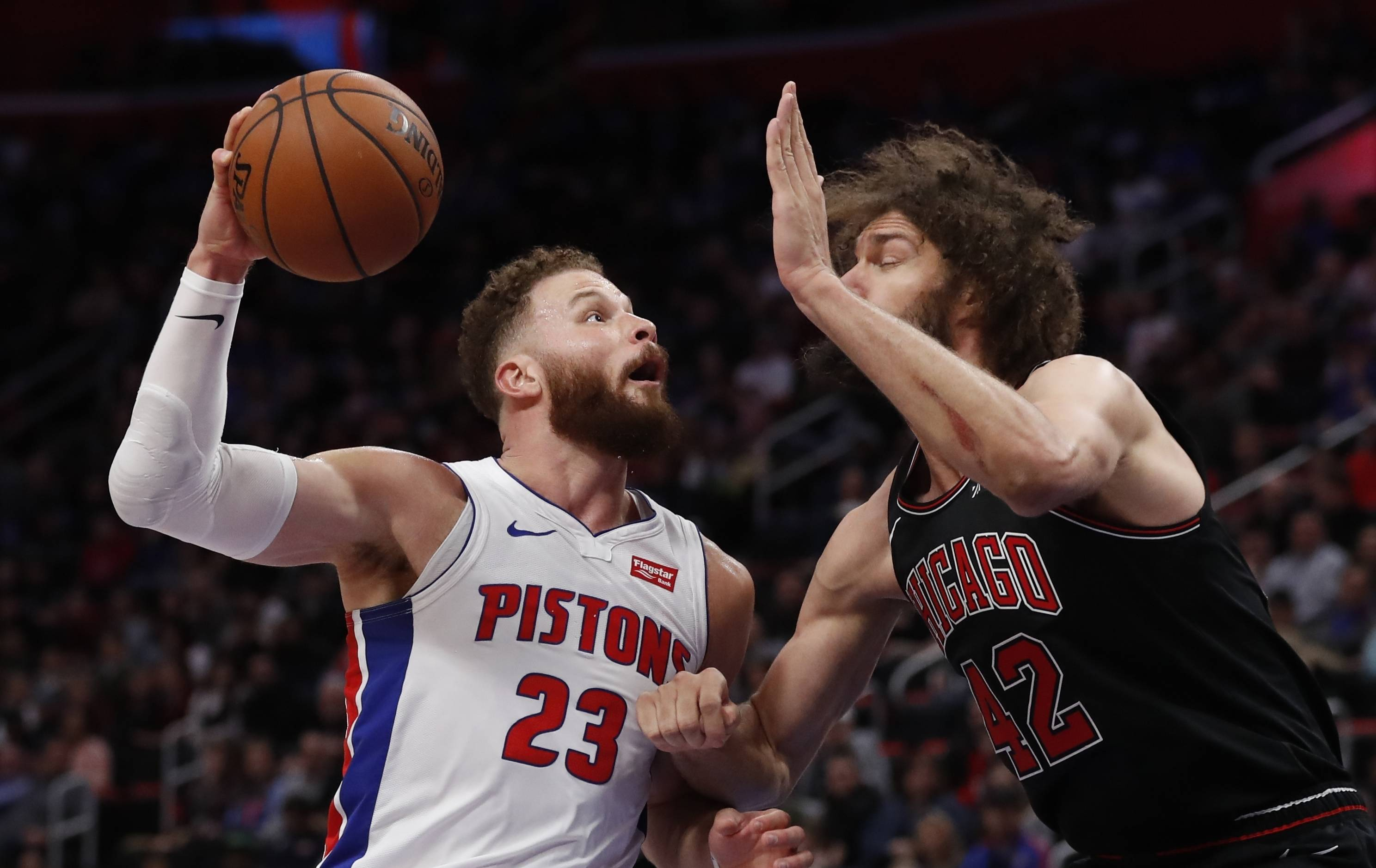 Without LaVine, Bulls can't stay with Pistons