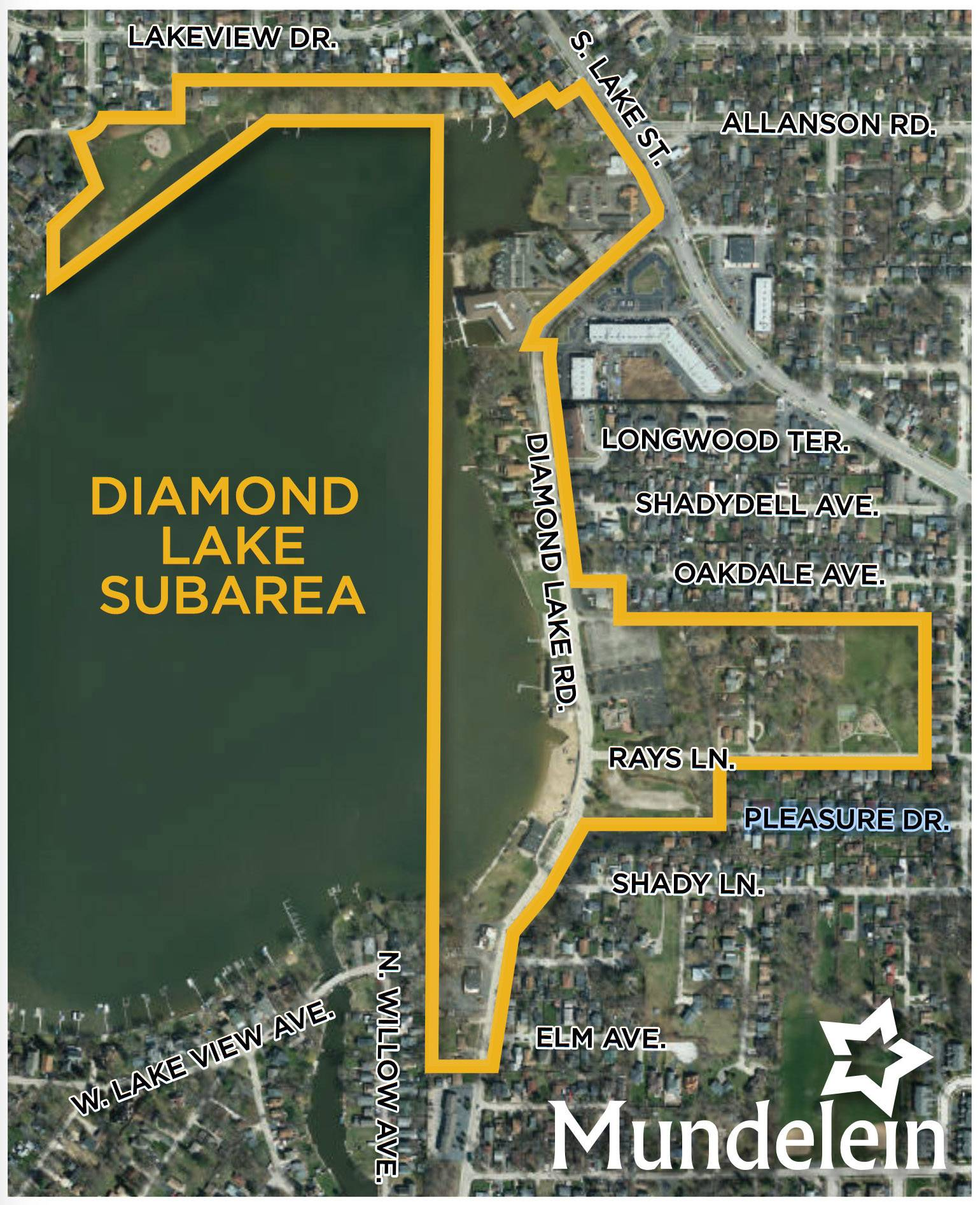 This is the village of Mundelein's comprehensive plan to develop the Diamond Lake subarea.