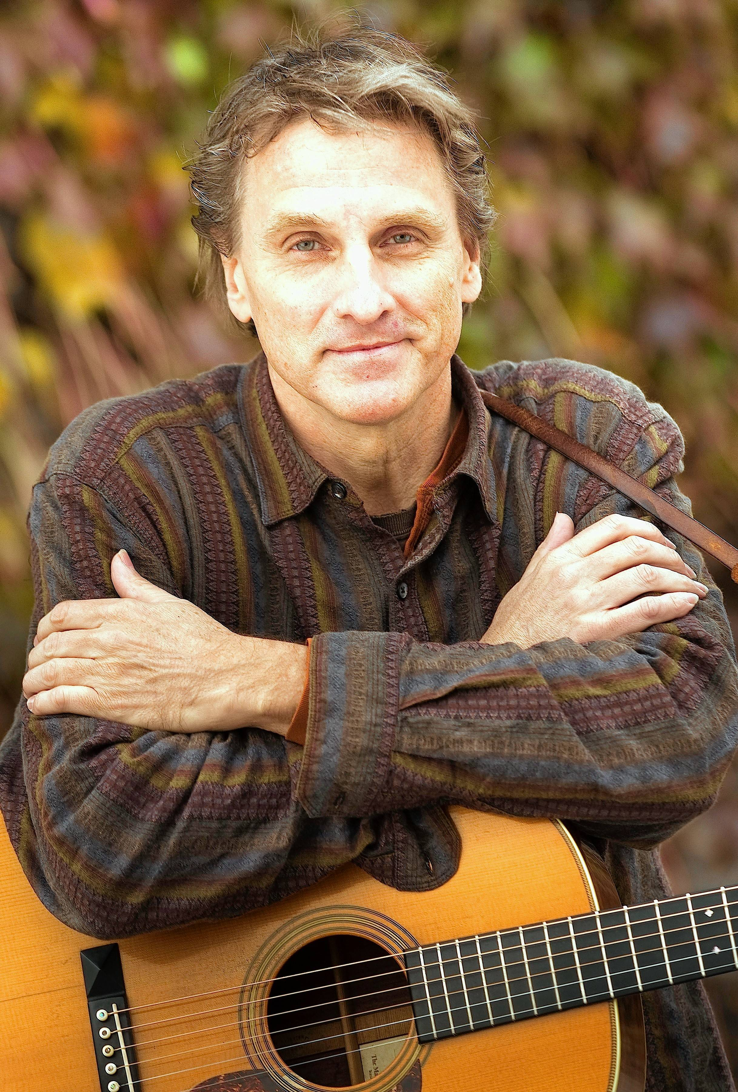 Folk musician Mark Dvorak will perform Sunday, April 14, at the Park Ridge Public Library.