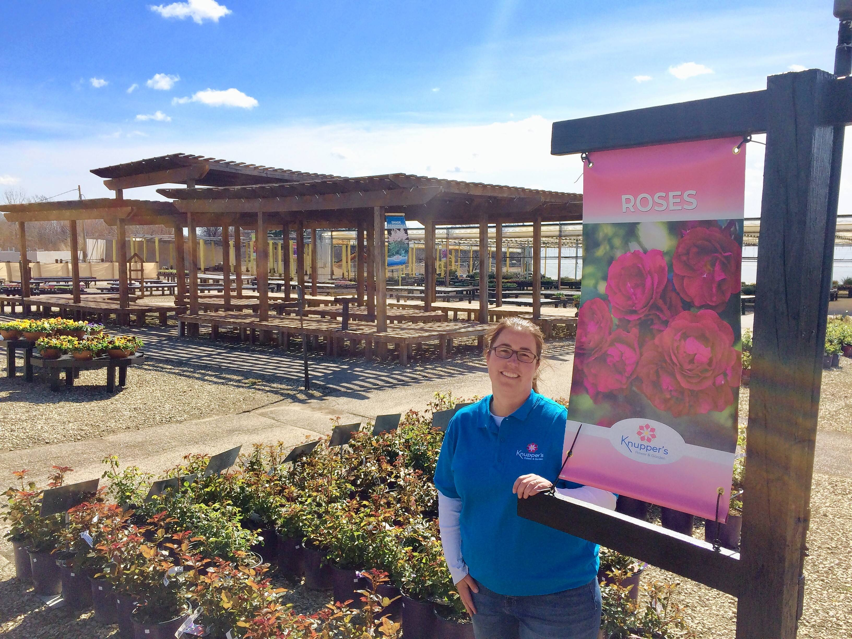 General manager Alison Johnson is part of Knupper's Flower & Garden opening this week on Rand Road in Palatine.