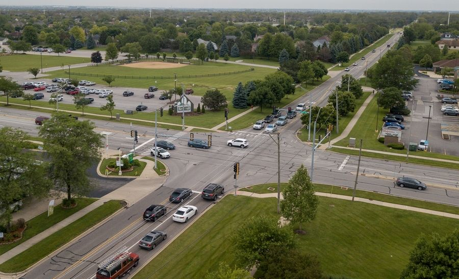 Naperville City Council members are set to consider three options to expand the intersection of Book Road and 95th Street during a meeting July 16.