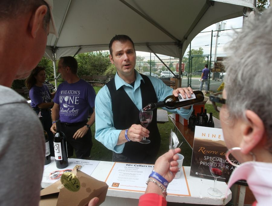 The fourth annual Wheaton Wine Walk is scheduled for Aug. 8 in downtown.