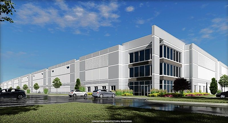 Midwest Industrial Funds has broken ground on a roughly 300,000-square-foot industrial building in the DuPage Business Center in West Chicago. The facility, which is expected to be completed in the fall, will feature 47 truck docks, 211 car parking spaces and on-site trailer parking.