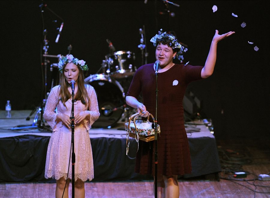 Agne & Marty performs Sunday at the Arcada Theatre in St. Charles as part of the Suburban Chicago's Got Talent Top 20 show.