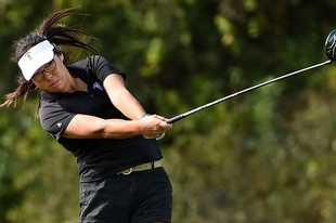 Four-year varsity golfer Joyce Bai hopes to help lead Stevenson downstate for the third year in a row.