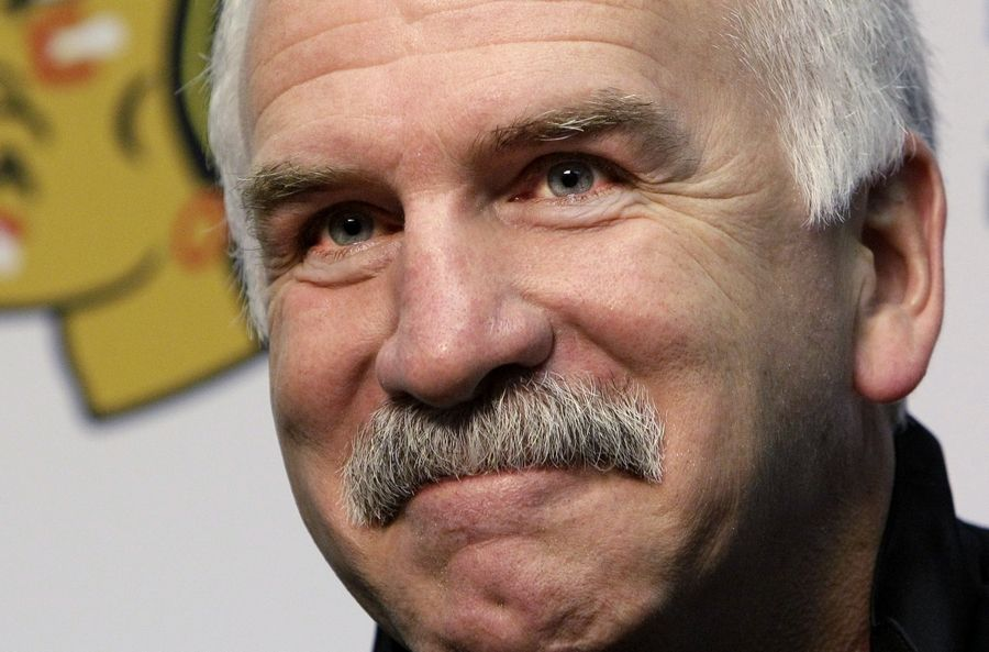 Joel Quenneville is the most successful coach in Blackhawks history, winning the Stanley Cup three times in the last decade.