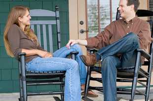 Create a front porch that is welcoming and inviting for your guests, as also a place where you want to spend time.
