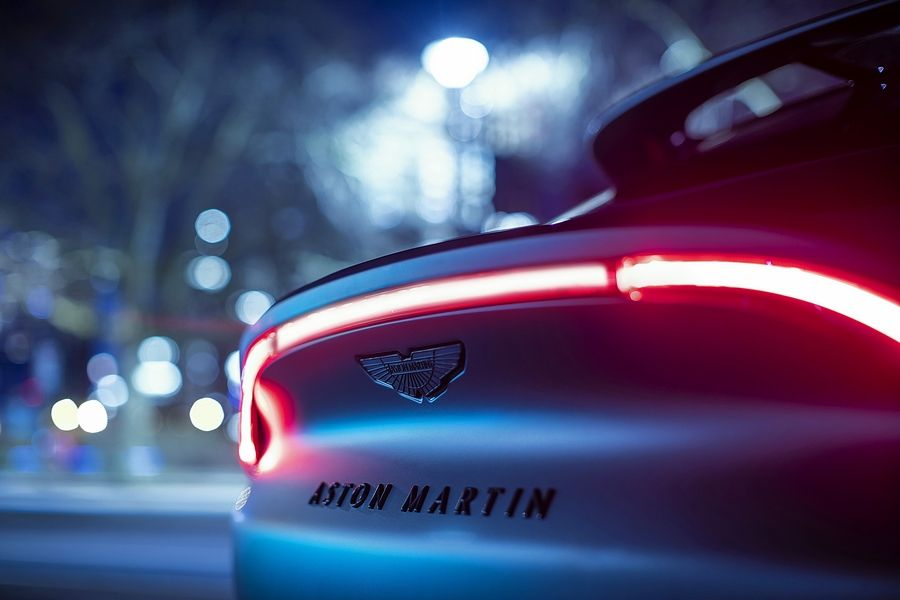 """Q by Aston Martin"" is the brand's in-house customizer."