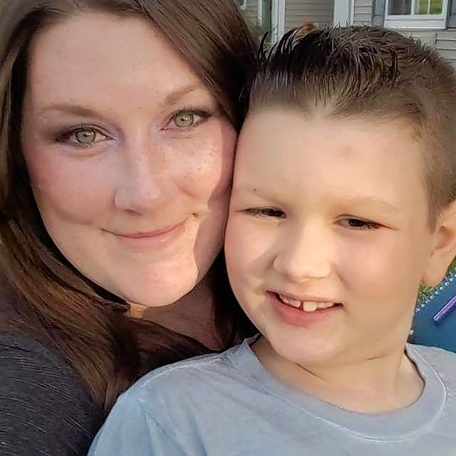 Dana McGray, of Carpentersville, tries hard not to let her 8-year-old son Lennox see her anxiety and fear. He is a third-grader at Eastview Elementary School in Algonquin with high-functioning autism and combined type ADHD.