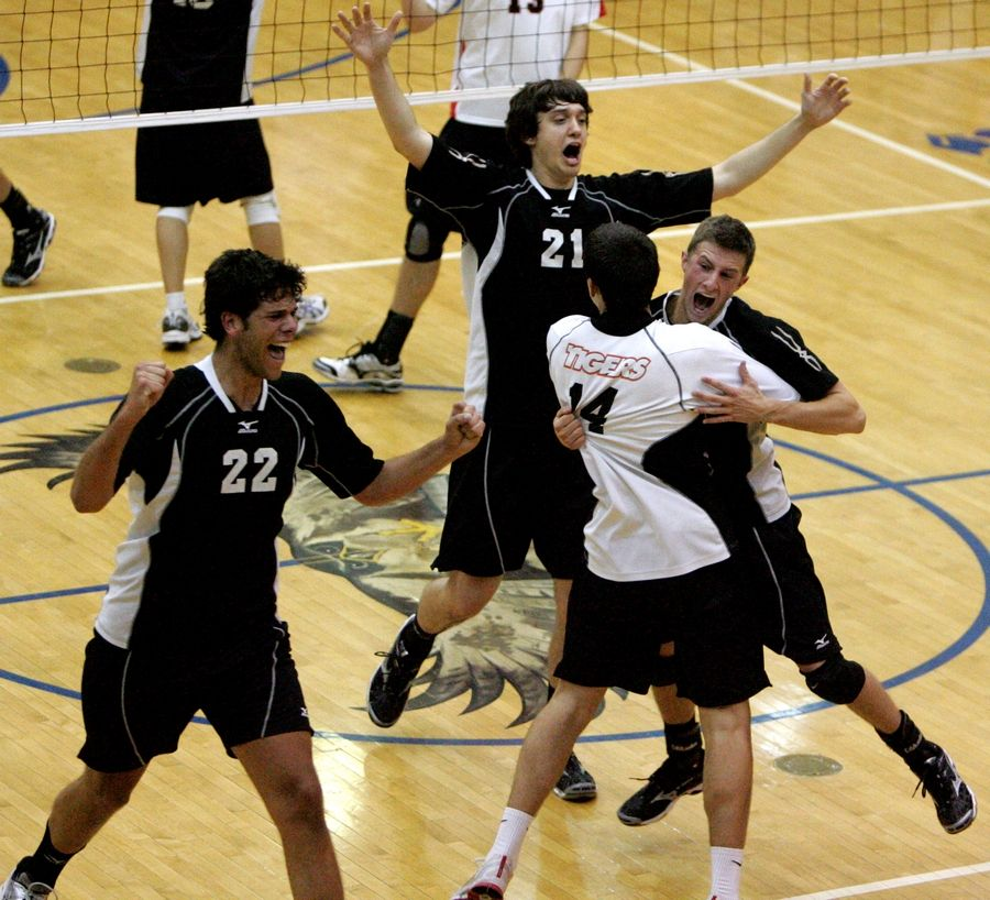 The 2009 championship run was the last of three straight state titles won by Wheaton Warrenville South's boys volleyball program.