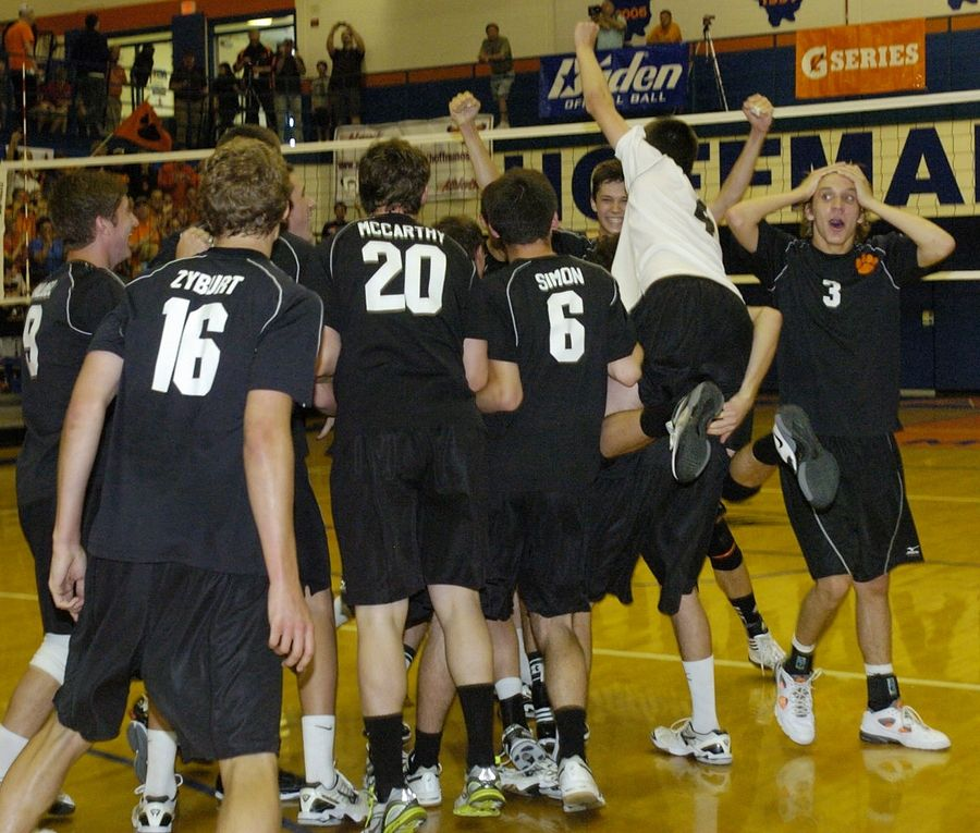 Wheaton Warrenville South went 42-0 and won its seventh boys volleyball state title in 2012.