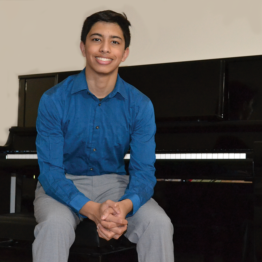 Pianist Shivshankar Prasad, a Conant High School student, won first place in the 2020-21 Stanger Audition winner. He performed the Piano Concerto No. 1, 3rd Movement, by Tchaikovsky. This year's audition will be Feb. 13.