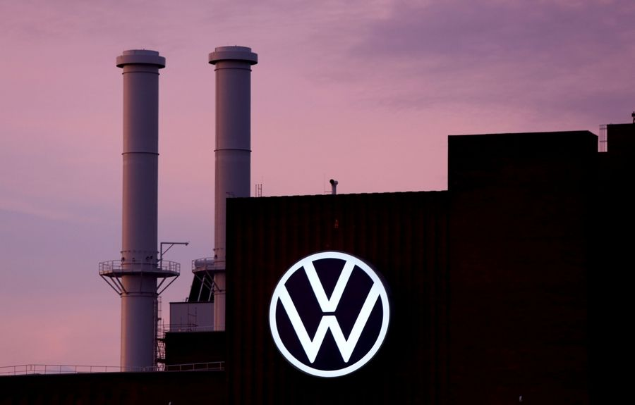 The Volkswagen headquarters in Wolfsburg, Germany, on Oct. 26, 2020.