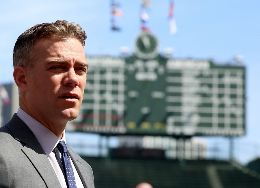 Cubs president of baseball operations Theo Epstein said he will take a break before moving on to his next chapter.