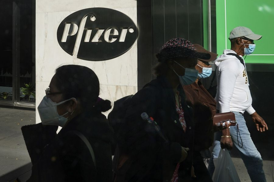 Pfizer announced Wednesday more results in its ongoing coronavirus vaccine study that suggest the shots are 95% effective a month after the first dose.