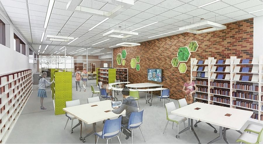 A dedicated teen room is part of a wide-ranging building project approved by voters in the Antioch Public Library District. The district will borrow $9.6 million by issuing bonds for the work.