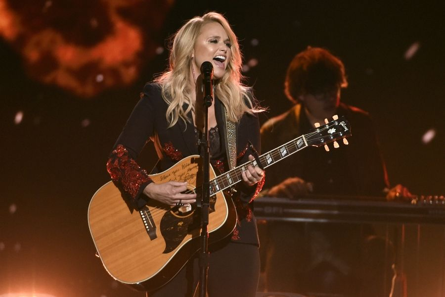 Miranda Lambert was nominated for a Grammy for best country album. Other nominees in that category include Brandy Clark, Ashley McBryde and Ingrid Andress.